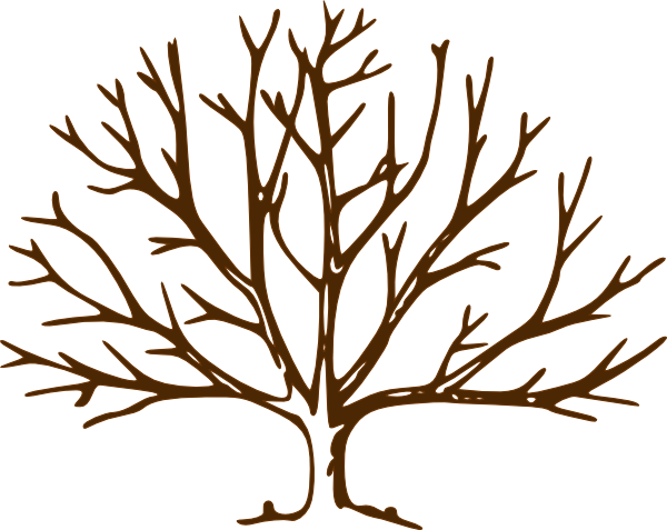 bare tree clip art at clker com vector clip art online royalty rh clker com tree limbs clipart tree branch clip art images