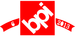 Bpi Red With Tagline Clip Art