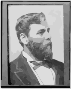 [milton M. Holland, Head-and-shoulders Portrait, Facing Right] Clip Art