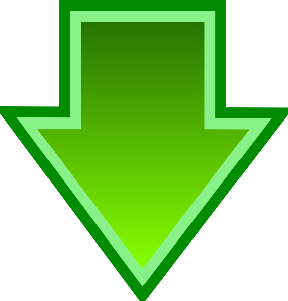 Green Down Arrow Clip Art at Clker.com - vector clip art online ...