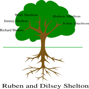 Shelton Tree Family Clip Art