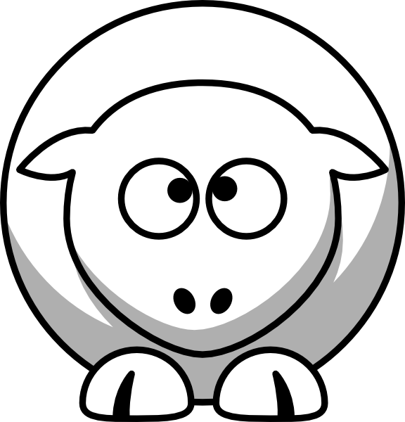 sheep cross eyed up clip art at clker com vector clip art online rh clker com cross eyed cartoon images funny cross eyed cartoons
