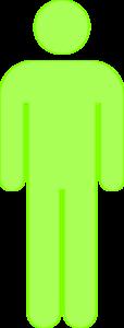 Single Person Icon Light Green Clip Art at Clker.com ...