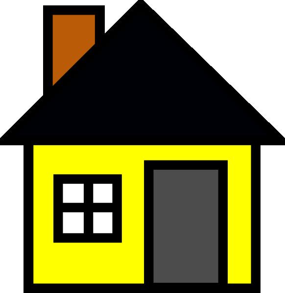 cartoon clipart of houses - photo #5