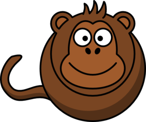 Monkey Without Legs And Arms Clip Art