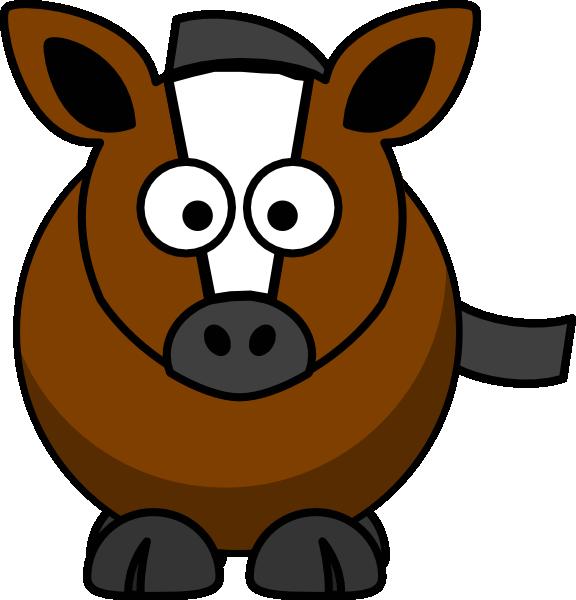 Horse mare cartoon clip art at vector clip art for Clipart mare