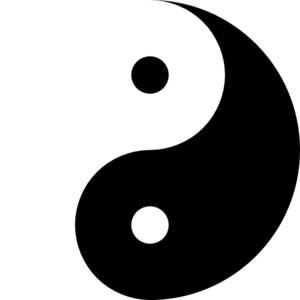 ying yang 11 clip art at clker com vector clip art online royalty rh clker com ying yang clip art free