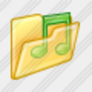 Icon Folder Music 6 Image