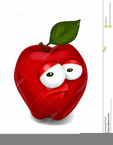 Bad Apple Clipart Image