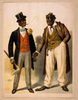 [two Performers In Blackface, Facing Each Other, One In Tuxedo, Other In Suit] Image