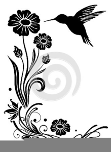 Bird Clipart Black And White Image
