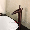 Antique Oil Rubbed Bronze Finish Centerset Bathroom Sink Faucet Image