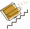 Addon Piano Falls Down Stairs Clip Art