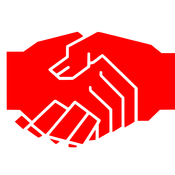 Shaking Hands Clip Art at Clker.com - vector clip art ...
