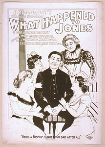 Broadhurst S Hilarious Sufficiency, What Happened To Jones By Geo. H. Broadhurst, Author Of Why Smith Left Home, The Wrong Mr. Wright, The House That Jack Built, Etc. Image