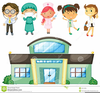 Doctors And Nurses Clipart Image
