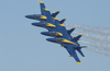 The Navy S Blue Angels Flight Demonstration Team Maintains A Tight Formation Thrilling The Audience, At Sherman Field Onboard Nas Pensacola Image