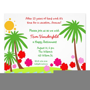 Free clipart retirement invitations free images at clker free clipart retirement invitations image stopboris Image collections