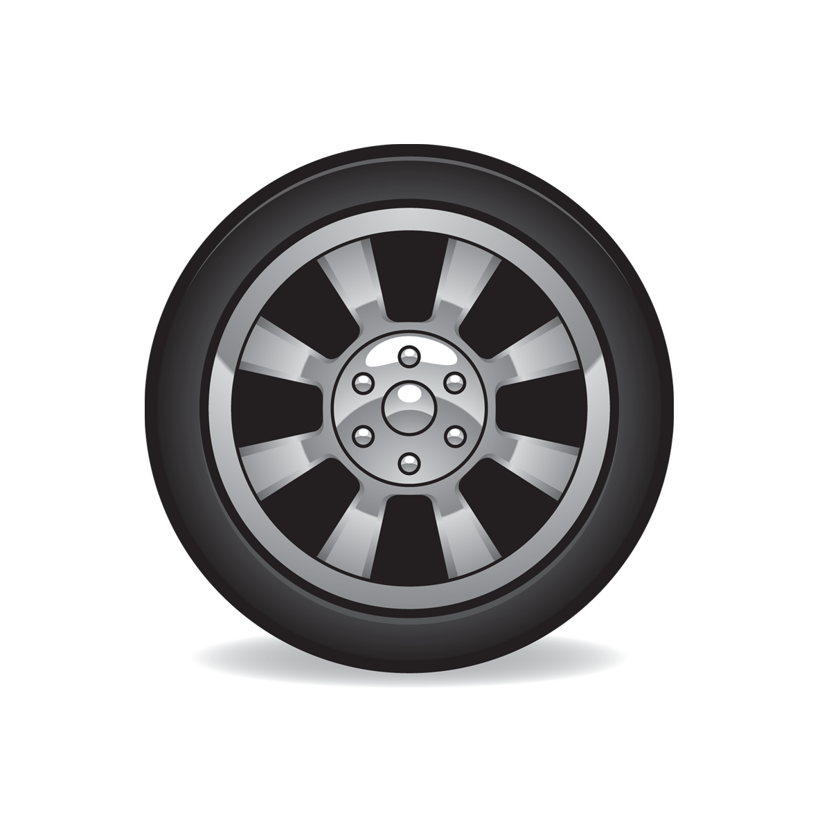 Tire Icon Full Size Free Images at Clker vector