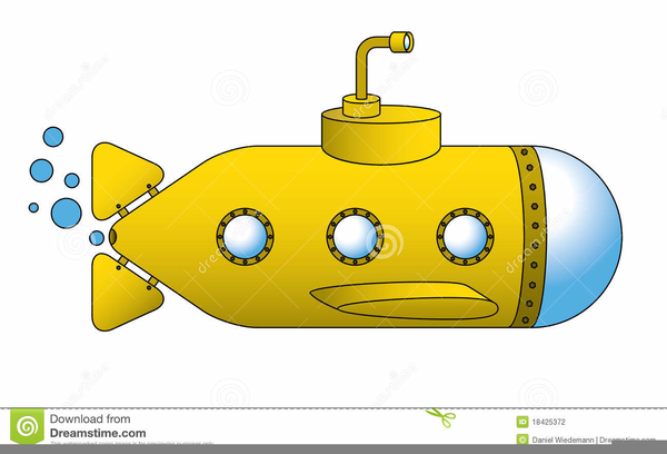 Yellow Submarine Clipart | Free Images at Clker.com ...