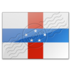 Flag Netherlands Antilles Image