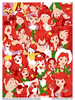 Red Disney Characters Image