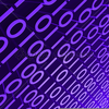 Purple Binary Background Image