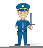 Free Traffic Cop Clipart Image
