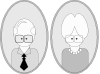 Grandpa And Grandma Clip Art