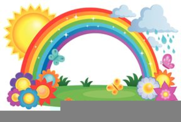 Christian Clipart Free Rainbow | Free Images at Clker.com ...