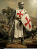 Crusader Knight Painting Image