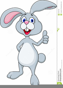 Bunny animated. Clipart easter free images