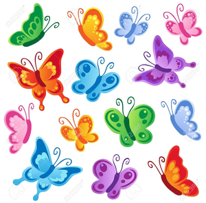 photograph relating to Free Printable Clip Art named Totally free Printable Butterfly Clipart Free of charge Visuals at