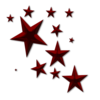 Star D Clutter Red No Back Image
