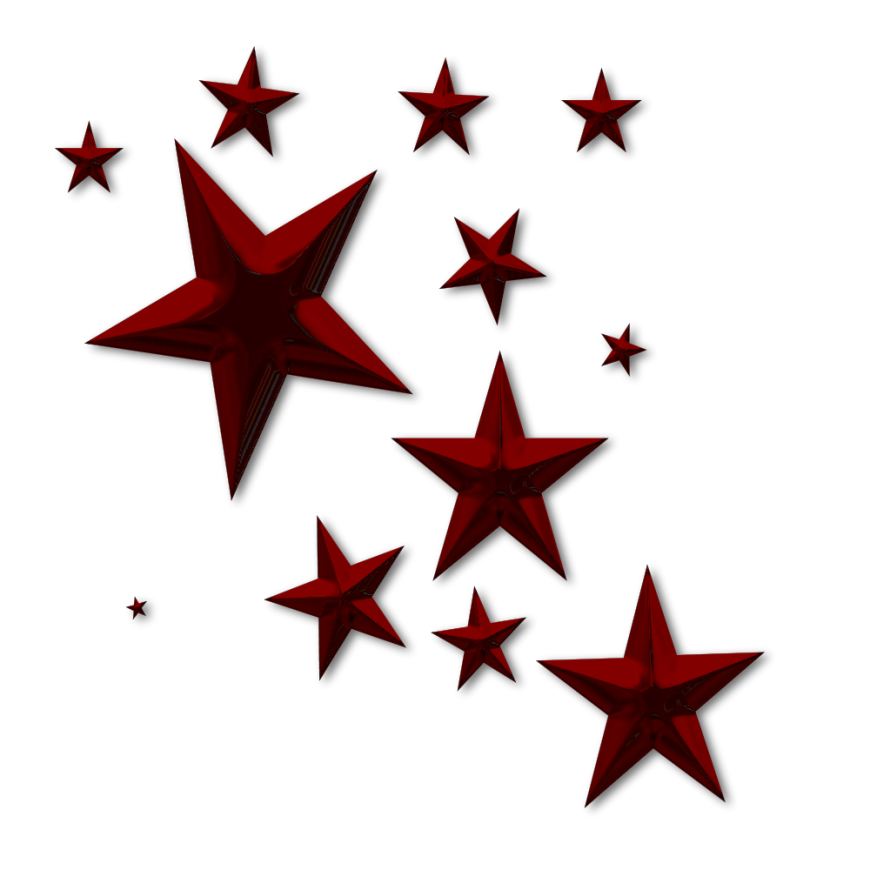 Star D Clutter Red No Back | Free Images at Clker.com - vector ...