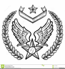Air Force Insignia Clipart Image