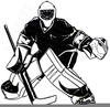 Beat The Goalie Clipart Image