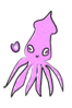 Squid Cartoon Clip Art