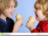 Boy Eating Ice Cream Clipart Image