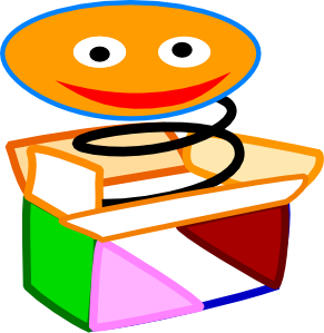 Jack-in-the-box Clip Art