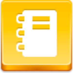Free Yellow Button Notepad Image