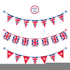 Free Jubilee Bunting Clipart Image