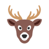 Free Clipart Gifs Deer Image