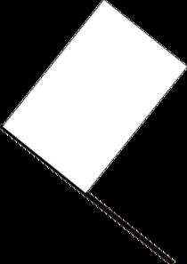 white flag clip art at clker com vector clip art online royalty rh clker com clipart american flag black and white flag clipart black and white