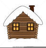 Cartoon Cottage Clipart Image