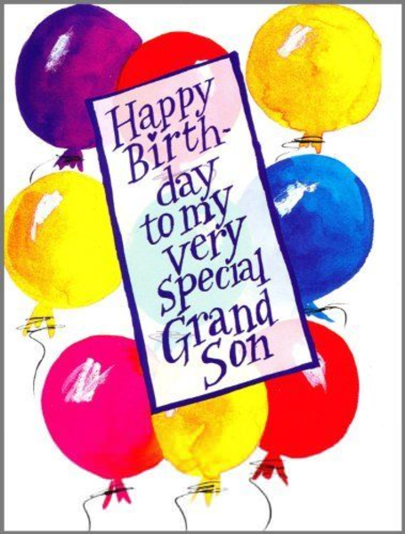 Happy Birthday Grandson Clipart Image