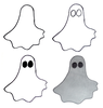 Simple Ghost Drawing Image