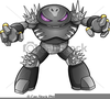 Robot Clipart Vector Image