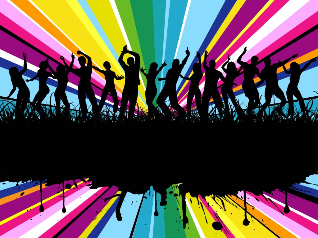 Colorful Rainbow Party Free Images At Clkercom Vector