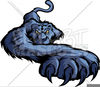 Prowling Panther Clipart Image